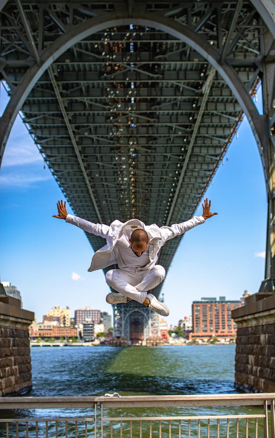 Mr. NYC Subway Levitation