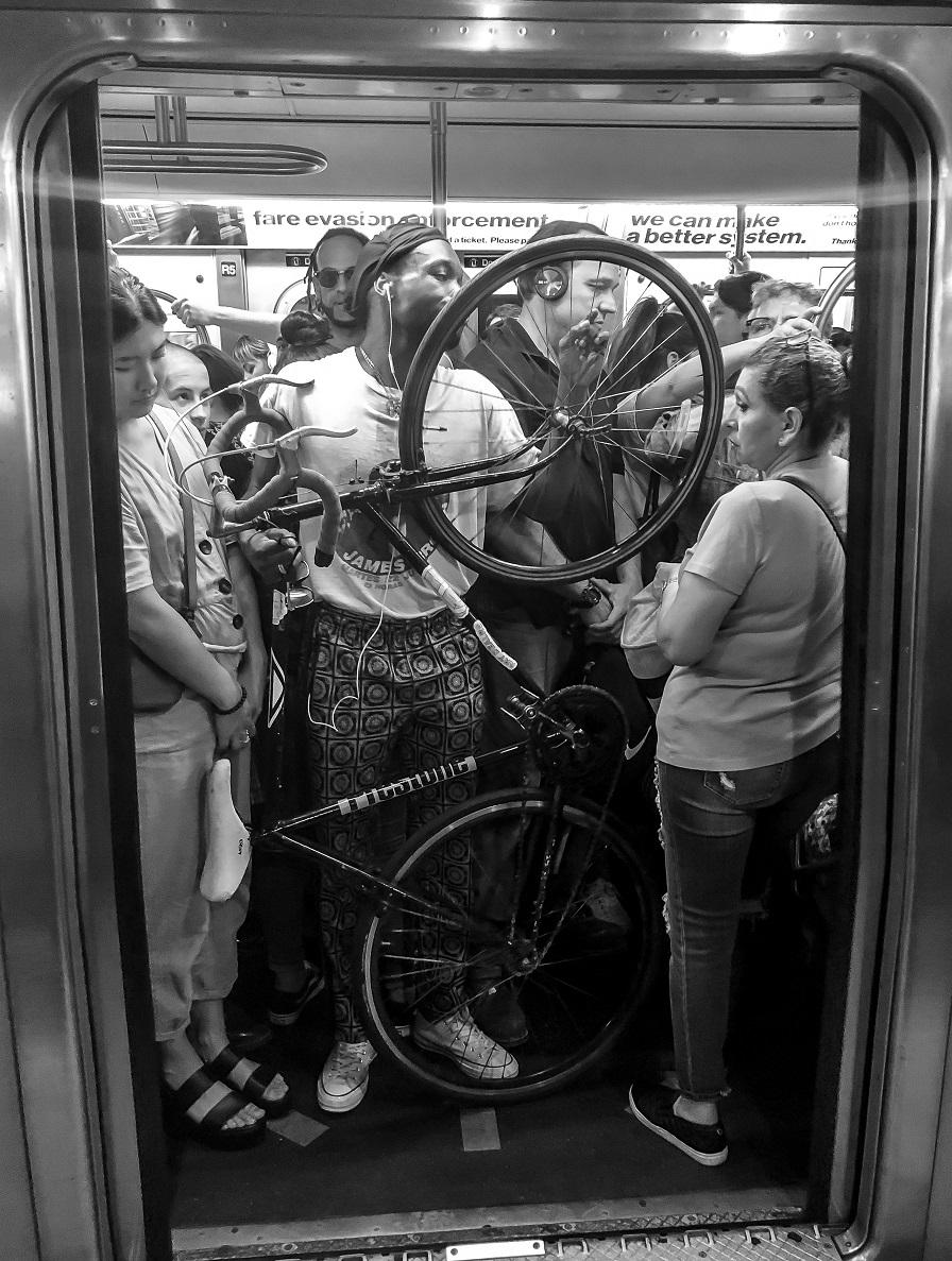 Mr. NYC Subway - Rush Hour