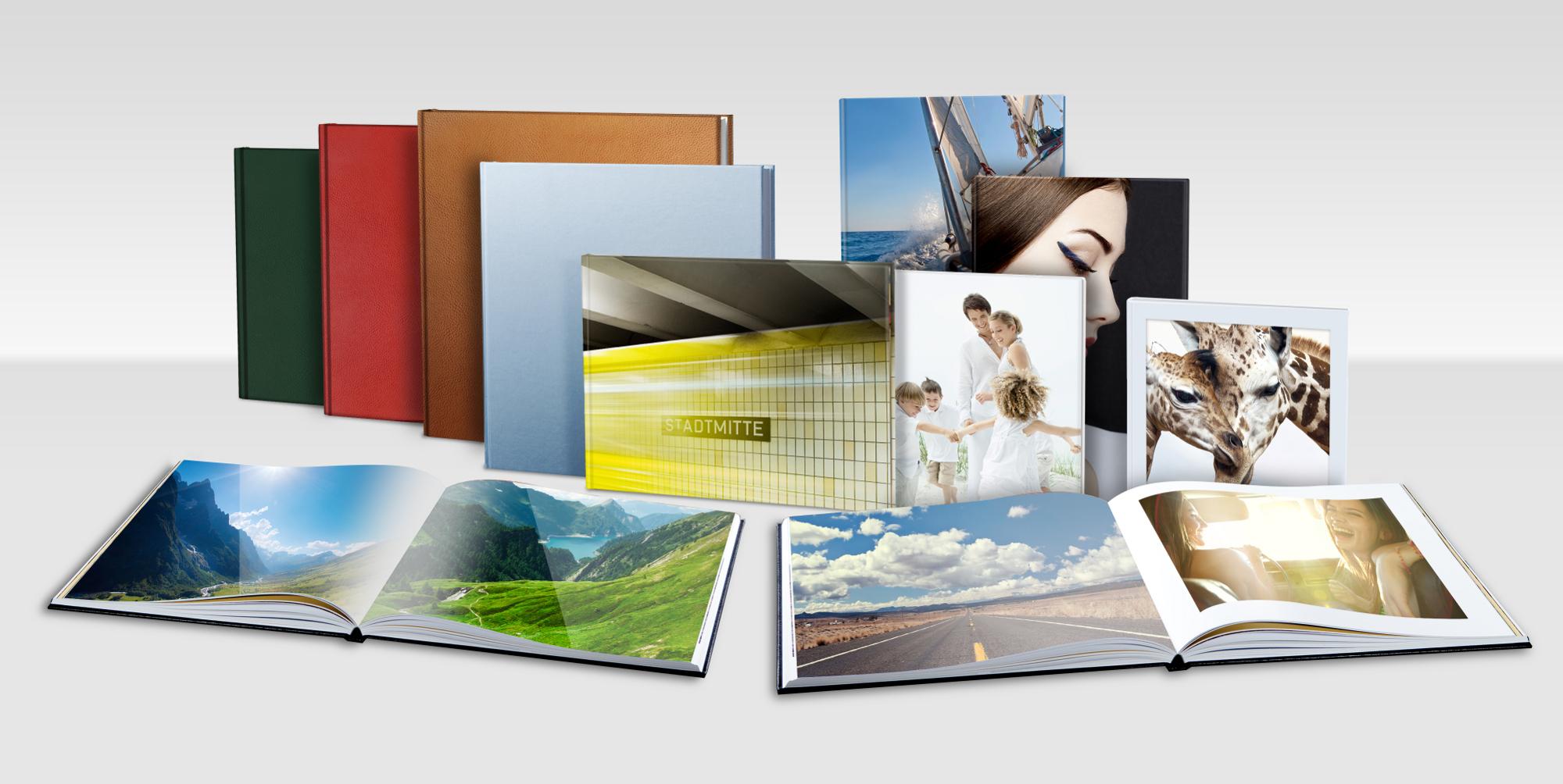 Fotobücher Vielfalt